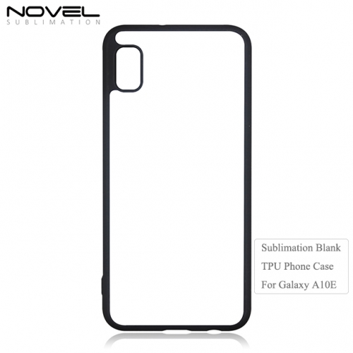 Custom Design 2D TPU Sublimation Blank Phone Case For Galaxy A10E