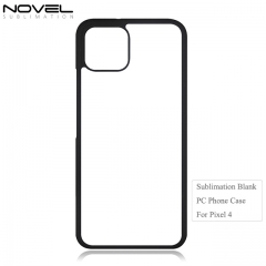New Arrival Sublimation 2D Blank PC Back Phone Case For Google Pixel 4