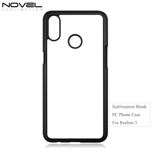 New Arrival Custom 2D PC Sublimation Cellphone Case For OPP Realme 3