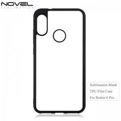 Fashion Sublimation Blank 2D Soft Film Phone Case For Radmi 6 Pro