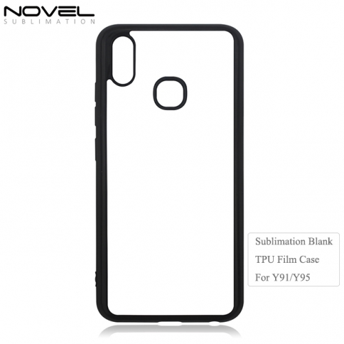 Custom Printing Sublimation Blank 2D Soft Film Phone Case For Vivo Y91