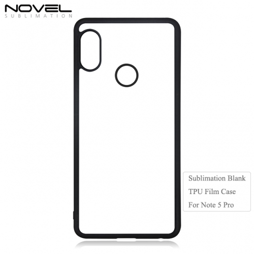 Wholesales Blank 2D Soft Film Phone Case For Redmi Note 5 Pro