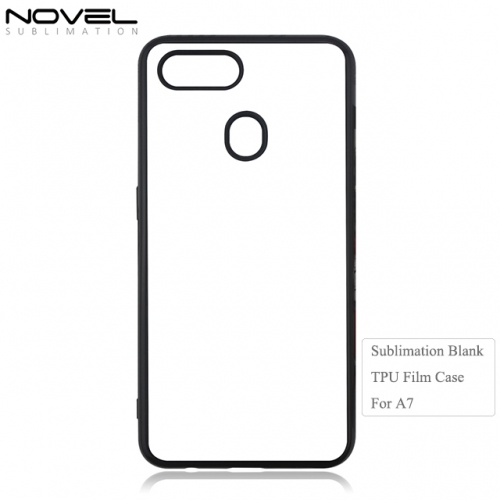 Comfortable Sublimation Blank 2D TPU Film Phone Case For OPPO A7