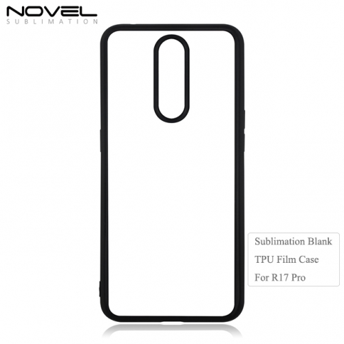 DIY Sublimation Blank 2D Soft Film Phone Case For OPPO R17 Pro