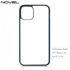 High Quality New 2D TPU Blank Sublimation Phone Case For iPhone 11 Pro