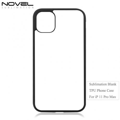 Hote Sale 2D TPU Sublimation Blank Phone Case For iPhone 11 Pro Max