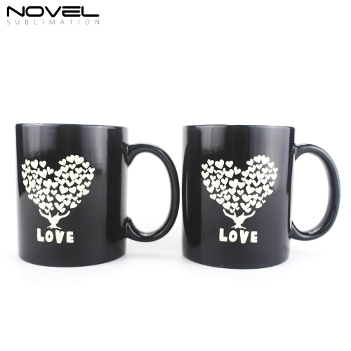 Personality Custom Color Changing Ceramic Mug For Gift