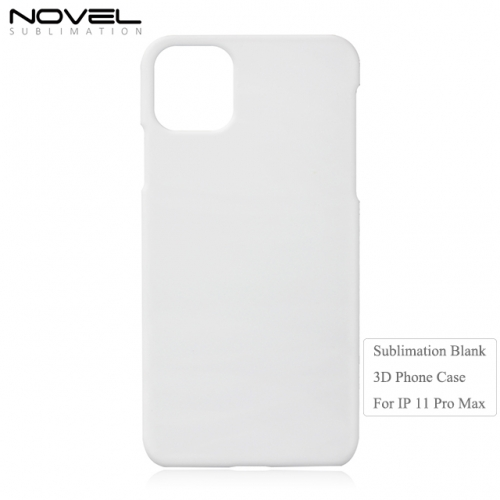 New Arrival Blank Sublimation 3D Phone Case For iPhone 11 Pro Max