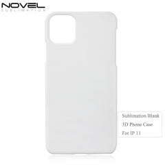 New Arrival 3D Plastic Blank Phone Case For iPhone 11