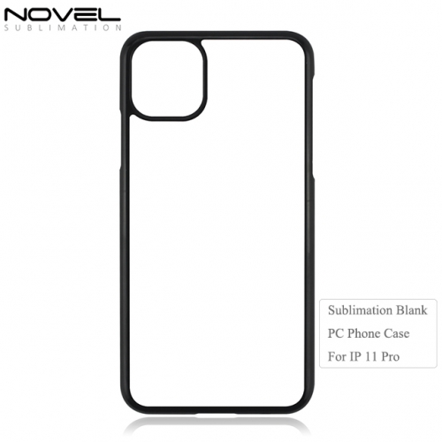 New Arrival Sublimation 2D Blank Metal Plate Phone Case For iPhone 11 Pro