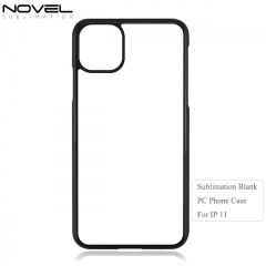 Hot saelling Hard Plastic 2D Blank Phone Case For iPhone  11