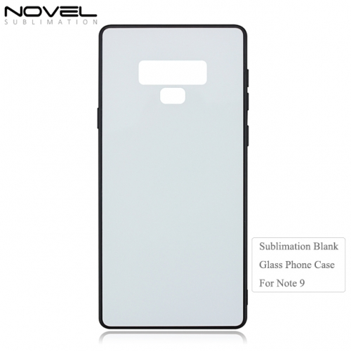 2D Tpu Tempered Glass Back Phone Cover for Galaxy Note 9