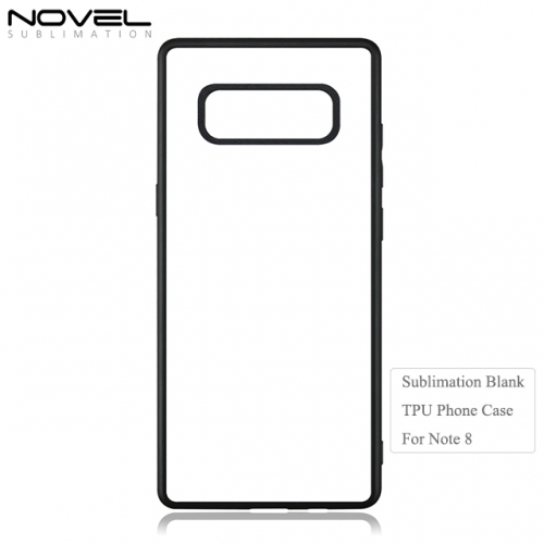 Factory Price 2D TPU Blank Phone Case For Galaxy Note 8