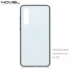2D Wireless charge Tempered TPU Glass Phone Case for Huawei P30