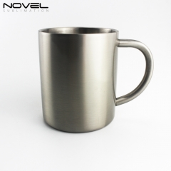 300ml Stainless Steel Sublimation Blank Cup Mug