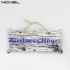 Fashionable Blank Sublimation Decoration Door Hanging Board