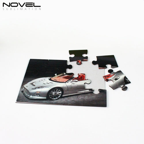 Personality DIY Print Blank Sublimation Rectangle MDF Puzzles