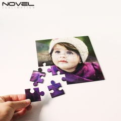 Personality Design Blank Sublimation MDF Square Puzzles