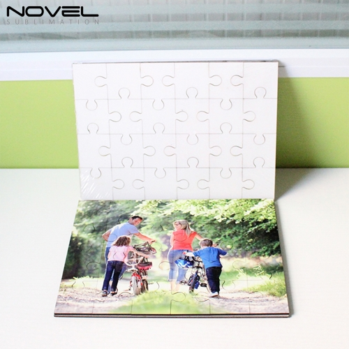 Custom Design Blank Sublimation MDF Rectangle Puzzles