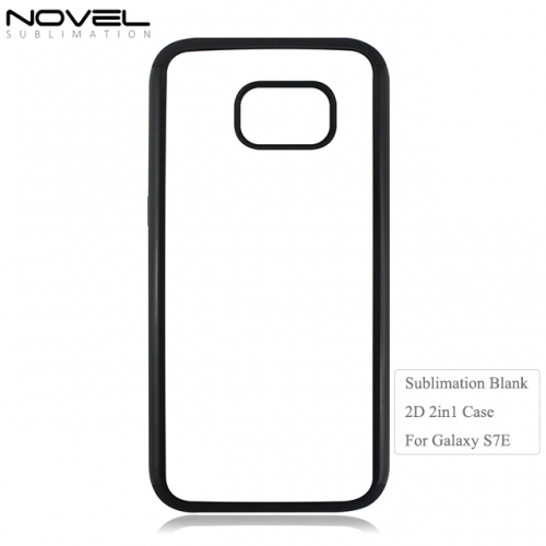 High Quality Blank 2D 2IN1 Phone Case For Galaxy S7 Edge