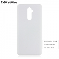 New Arrival 2019 3D PC Blank Phone Case For OPPO Reno ACE