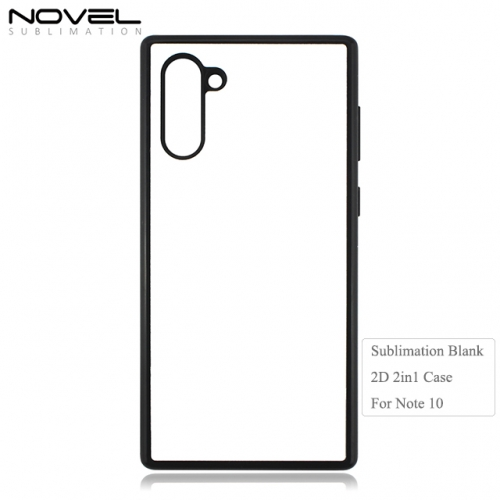Hot Sales New 2D Sublimation Blank 2in1 Phone Case For Galaxy Note 10