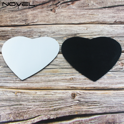 Wholesales Price Blank Sublimation Heart Mouse Pad
