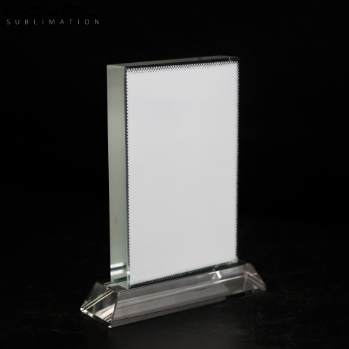 Sublimation Coating Blank Crystal Vertical Rectangle,Wedding Gift Crystal
