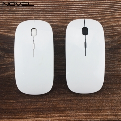 Personality Design Heat Transfer Blank 3D Polymer Wireless Mouse