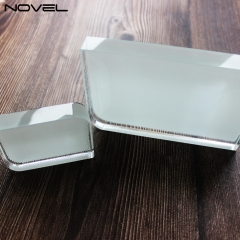 Design Fashionable Sublimation Blank Smooth Angel Square Crystal