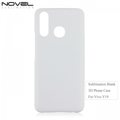 Wholesales High Quality 3D PC Blank Sublimation phone Case For Vivo Y19