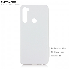 Hote Sales 3D Blank Sublimation PC Phone Case For Redmi Note 8T