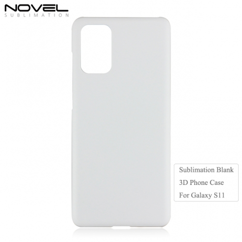 New Arrival Custom Print Sublimation Blank 3D Phone Case For Sam sung S11