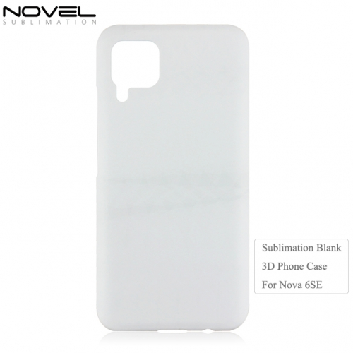 Newly Sublimation Blank 3D PC Phone Case For Huawei Nova 6SE