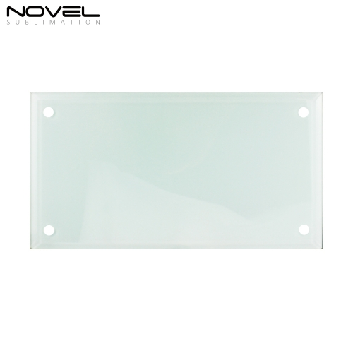 Hot Sales Fashionable Blank Sublimation 12'' Glass Photo Frame