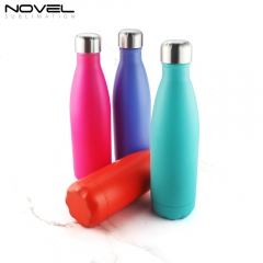 Custom Print Sublimation Matte Stainless Steel Water Bottle