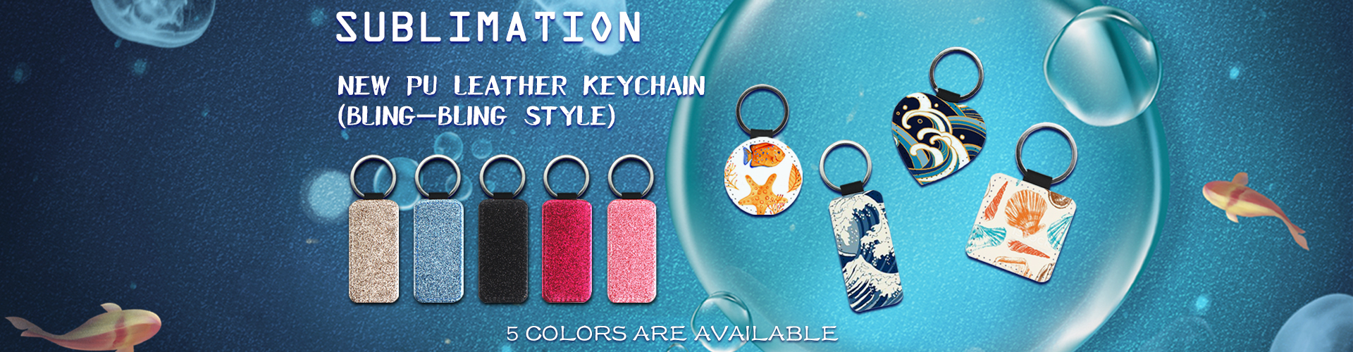 Exquisite Sublimation keychain