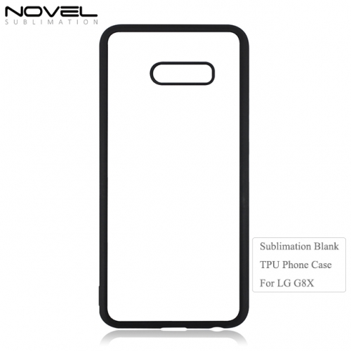 High Quality 2D TPU Sublimation Blank Phone Case For LG G8X