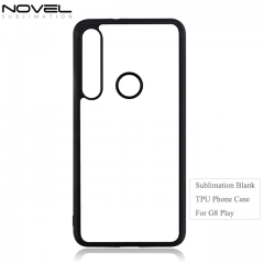 Newly 2D TPU Sublimation Blank Phone Case For Moto G8 Play