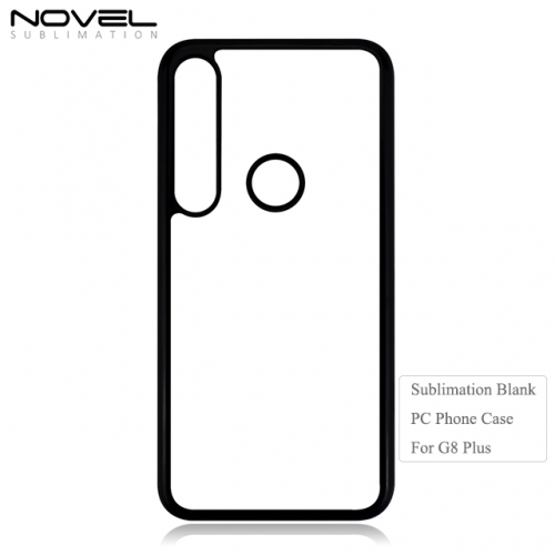 Newly 2D PC Sublimation Blank Phone Case For Moto G8 Play