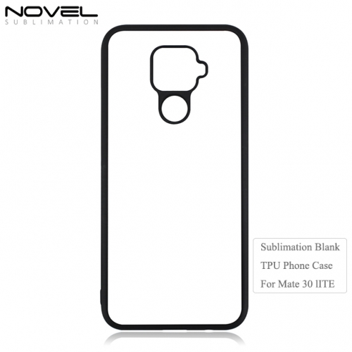 High Quality Sublimation Blank 2D TPU Phone Case For Huawei Mate 30 Lite