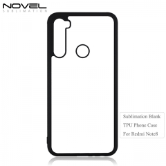 HIgh Quality 2D TPU Blank Phone Case For Redmi Note 8