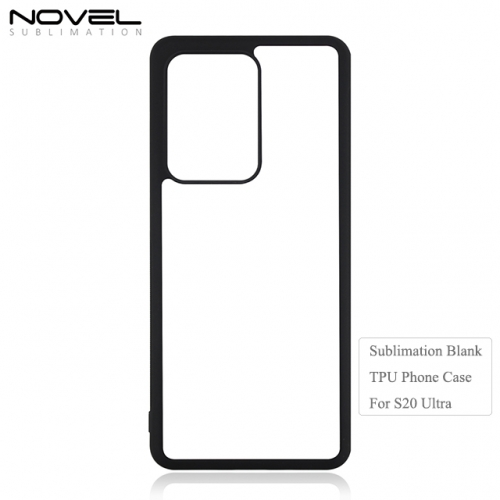 2D Sublimation Blank TPU Phone Case for Sam sung S20 Ultra