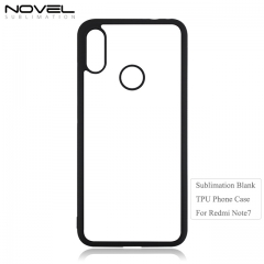 2020 2D TPU Sublimation Blank Phone Case For Redmi Note 7