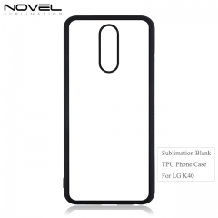High Quality 2d tpu sublimation mobile phone case for LG K40