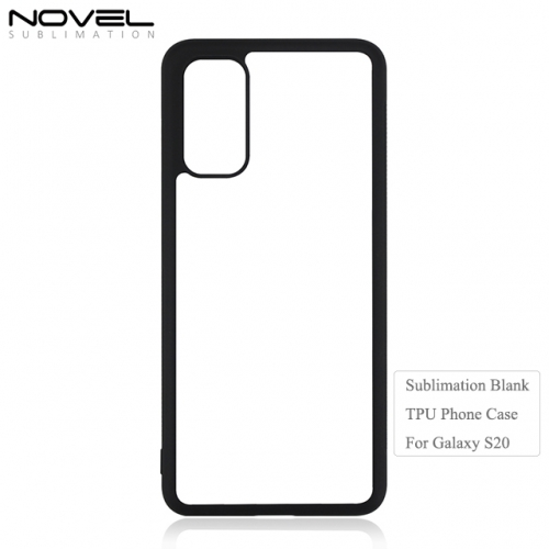 2020 hot selling sublimation 2d tpu phone case for Sam sung S20