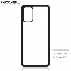 Factory Wholesales 2D Blank Soft RubbeR Case for Sam sung S20 Plus