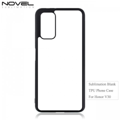 2020 New Sublimation Blank 2D TPU Phone Case For Huawei Honor V30