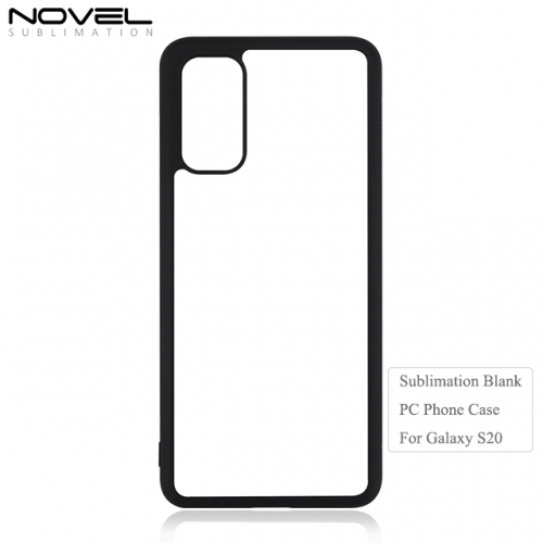 New coming Sublimation Blank 2D PC Phone Case For Sam sung S20