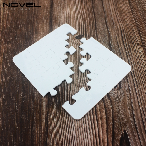 3D Printing Blank Polymer Square Jigsaw Puzzle A4 A5 A6 Size